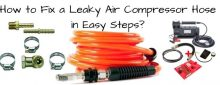 How to Fix a Leaky Air Compressor Hose in Easy Steps?