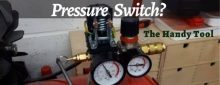 4 Easy steps on How to adjust air compressor Pressure Switch?